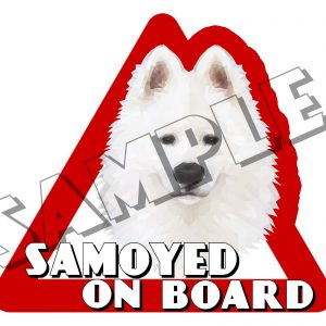samoyed sticker